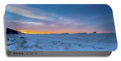 February Sunset Portable Battery Charger