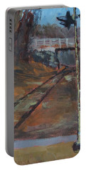Federal Street Overpass - Art By Bill Tomsa Portable Battery Charger