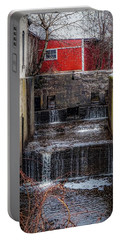 Portable Battery Charger featuring the photograph Feeder Canal Lock 13 by Kendall McKernon