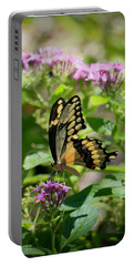 Feeding The Butterflies Portable Battery Charger