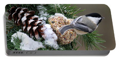 Feeding Feathered Friends Portable Battery Charger