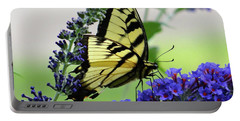 Feeding From A Nectar Plant Portable Battery Charger