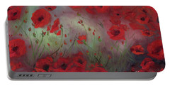 Feeling Poppy Portable Battery Charger