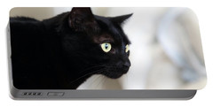 Feline On The Prowl Portable Battery Charger