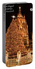 Feliz Navidad Portable Battery Charger