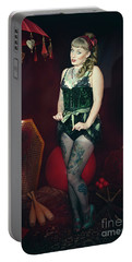 Female Circus Performer Portable Battery Charger