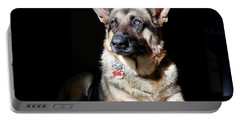 Female German Shepherd Portable Battery Charger