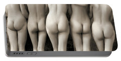 Female Nude Quintet Portable Battery Charger