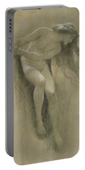 Female Nude Study  Portable Battery Charger