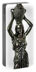 Female Water Goddess Bronze Statue 3288a Portable Battery Charger