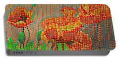 Fence Art Portable Battery Charger