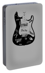 Fender Stratocaster 59 Portable Battery Charger by Mark Rogan