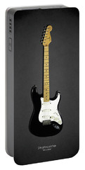 Fender Stratocaster Blackie 77 Portable Battery Charger