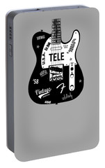 Fender Telecaster 58 Portable Battery Charger by Mark Rogan