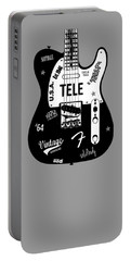 Fender Telecaster 64 Portable Battery Charger by Mark Rogan