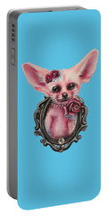 Fennec Fox Portable Battery Charger by Sheena Pike