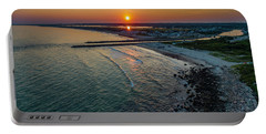 Fenway Beach Sunset Portable Battery Charger