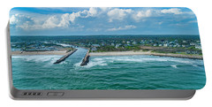 Fenway Beach, Weekapaug,ri Portable Battery Charger