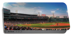 Fenway Park Panoramic - Boston Portable Battery Charger