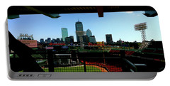 Portable Battery Charger featuring the photograph Fenway Park, Xi  by Iconic Images Art Gallery David Pucciarelli