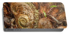Fern Headdress Portable Battery Charger