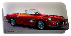 Ferrari 250 Gt California Spyder 1957 Painting Portable Battery Charger