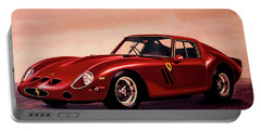 Ferrari 250 Gto 1962 Painting Portable Battery Charger