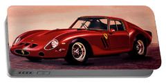 Ferrari 250 Gto 1962 Painting Portable Battery Charger by Paul Meijering