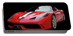 Ferrari 458 Speciale Aperta Portable Battery Charger