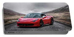 Ferrari 458 Portable Battery Charger by Stephan Grixti