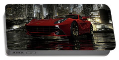 Portable Battery Charger featuring the photograph Ferrari F12berlinetta by Louis Ferreira