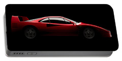 Ferrari F40 - Side View Portable Battery Charger