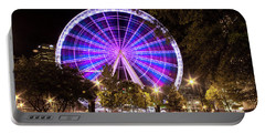 Ferris Wheel At Centennial Park 1 Portable Battery Charger