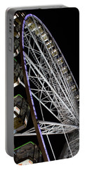 Ferris Wheel At Night 16x20 Portable Battery Charger