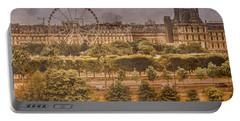 Paris, France - Ferris Wheel Portable Battery Charger