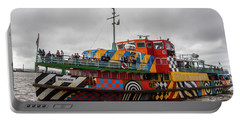 Ferry Cross The Mersey - Razzle Boat Snowdrop Portable Battery Charger