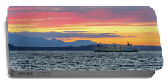 Ferry In Puget Sound Portable Battery Charger