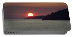 Ferry Sunset Portable Battery Charger