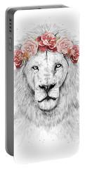 Festival Lion Portable Battery Charger