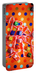 Festive Background Portable Battery Charger