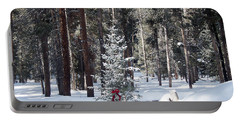 Festive Forest Portable Battery Charger