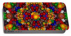Portable Battery Charger featuring the digital art Festivities by Robert Orinski