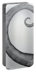 Fibonacci Spiral No.1 Portable Battery Charger