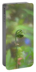 Fiddlehead Fern - Macro Portable Battery Charger