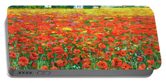Field And Poppies Portable Battery Charger