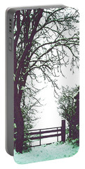 Field Gate Portable Battery Charger by Anne Kotan
