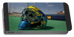 Field Hockey Helmet Portable Battery Charger