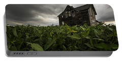 Field Of Beans/dreams Portable Battery Charger by Aaron J Groen