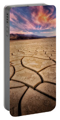 Field Of Cracks Portable Battery Charger