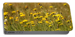 Field Of Dandelions Portable Battery Charger